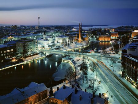 Tampere, Finland. My home