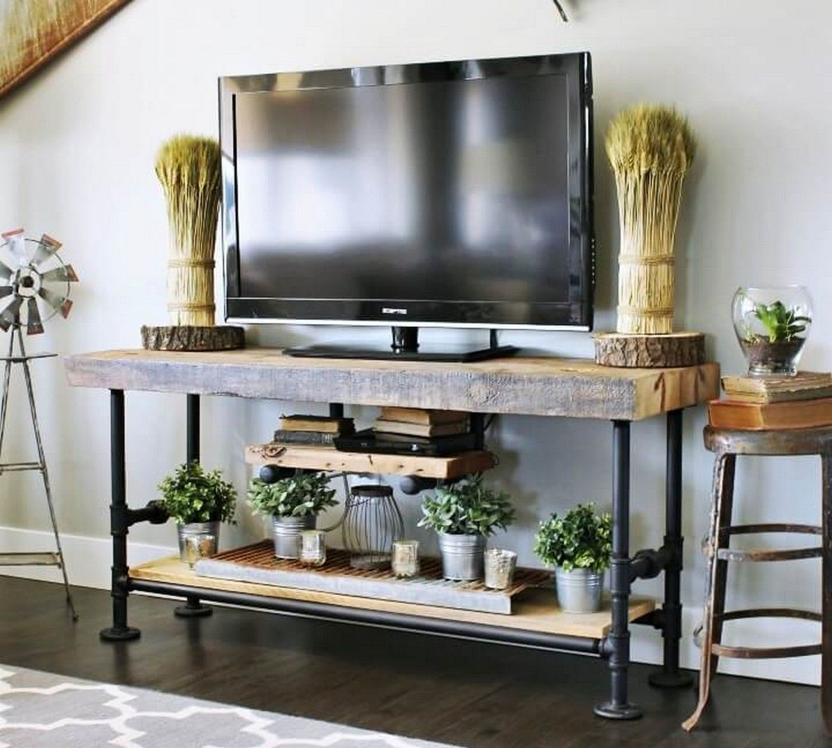 20 Farmhouse Style Tv Console Ideas Goodnewsarchitecture Farmhouse Tv Console Diy Tv Stand Farmhouse Tv Stand