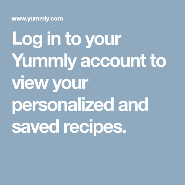 Log In | Yummly