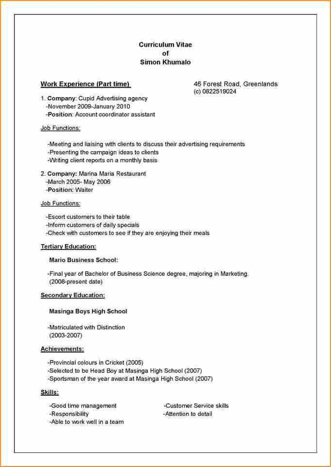 Top Tips on how to write your Curriculum Vitae (CV) - Luckysters