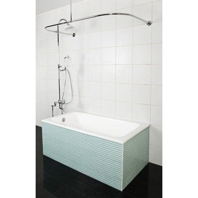 Sunrise Specialty 47 Inch X 28 Inch Cast Iron Drop   In Bathtub,