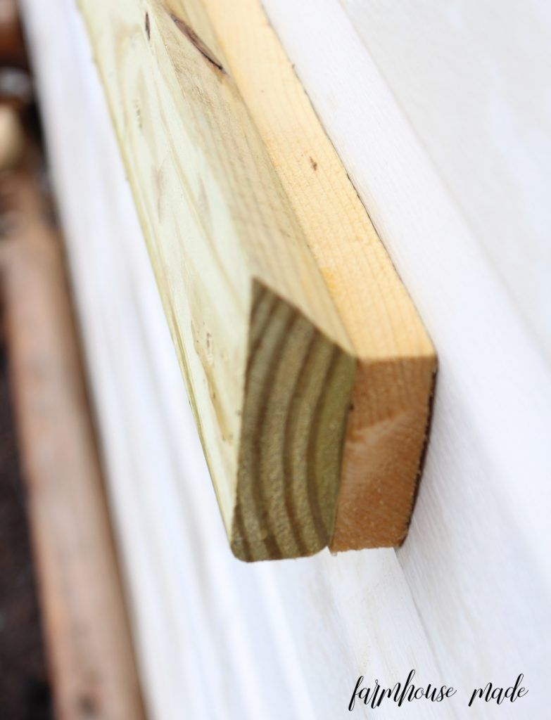 How To Make And Hang A Window Box On Vinyl Siding F A R M H O U S E M A D E Hanging Window Boxes Window Boxes Diy Wood Window Boxes