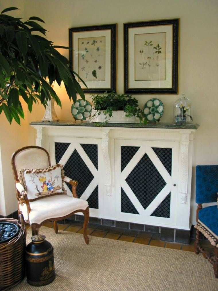 decoration de mur de salon cache radiateur design et idée du0027intérieur moderne avec déco de mur et salon  art déco