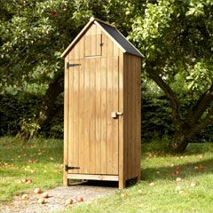 Garden Sheds Quick Delivery brundle garden tool shed 179cm natural on sale | fast delivery