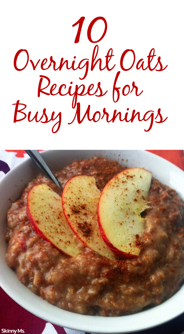 We make it super easy for you to eat breakfast on your super busy morning schedule. The peanut butter oats are my favorite. Mmm, so good. #SkinnyMs #cleaneating #breakfast #easy