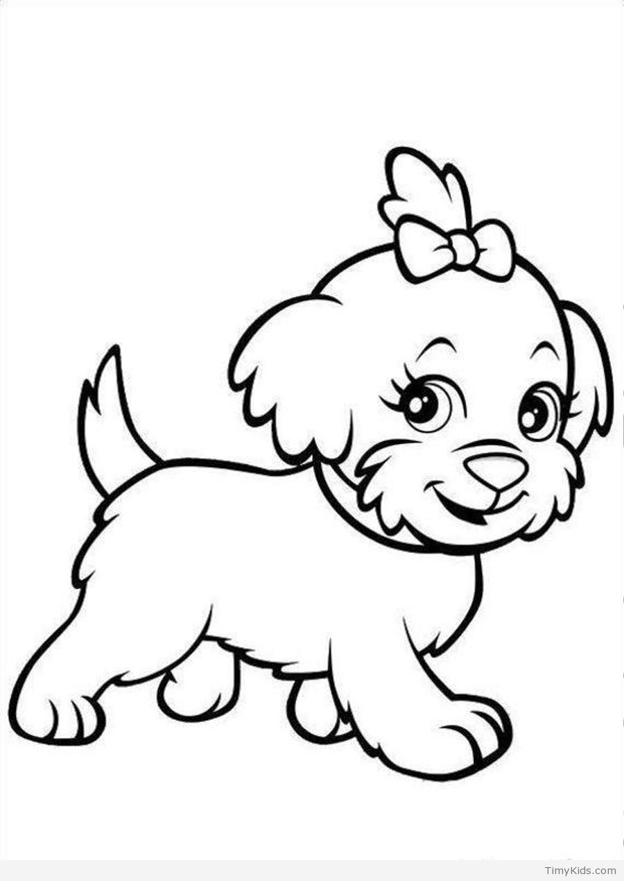 http://timykids.com/30-puppy-coloring-pages.html #30, #Baby ...