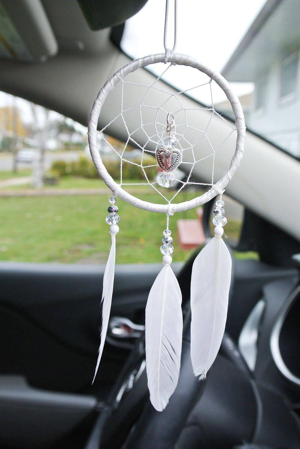 Rear View Mirror Dream Catcher, Small Dreamcatcher for Car