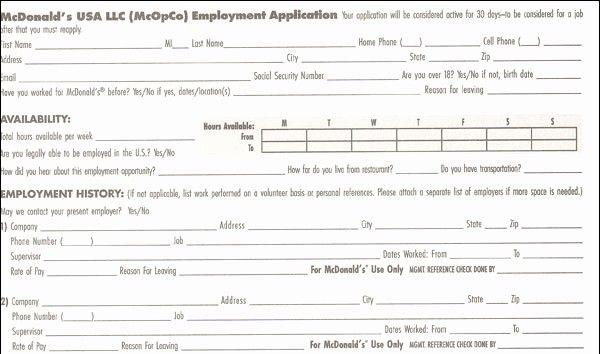 Wawa Job Application form Pdf Fresh 7 Eleven Job