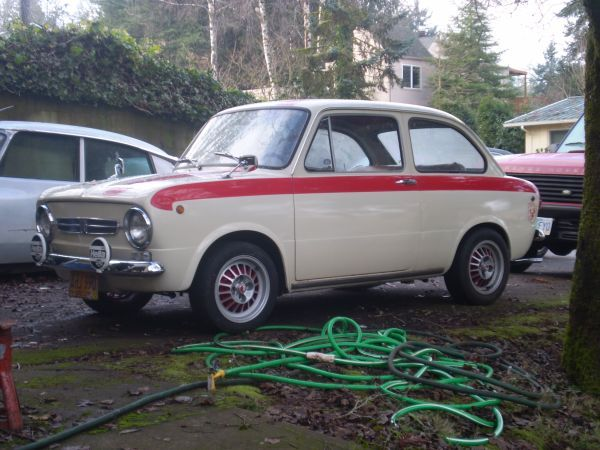 Pin by Chelsea Peterson on I Roll Fiat 850, Fiat