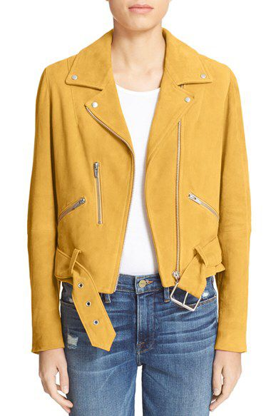 Veda Veda 'Gemini' Suede Moto Jacket (Nordstrom Exclusive) available at #Nordstrom