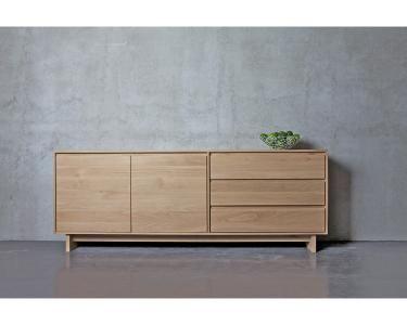 Ethnicraft© - Products » Sideboards »Oak Wave sideboard