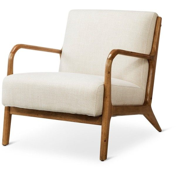 Gentil Rodney Wood Arm Chair ($218) Via Polyvore Featuring Home, Furniture, Chairs,