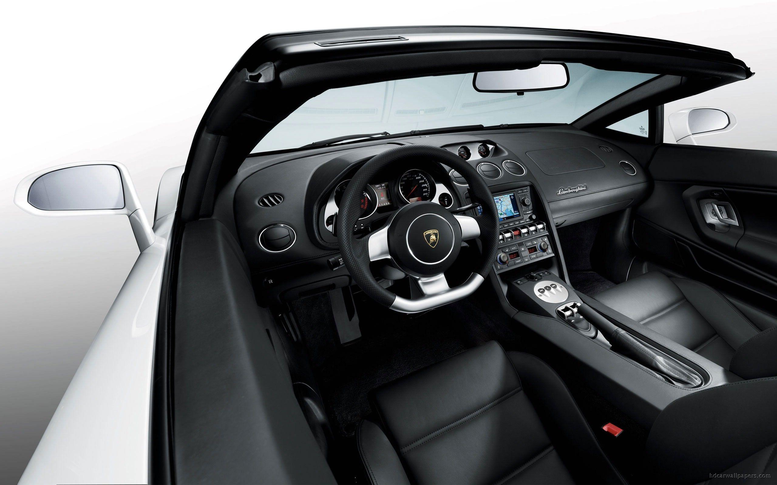 Lamborghini Gallardo Spyder Interior Wallpapers Lamborghini