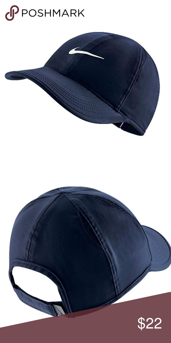 e896e1e876b NIKE Women s Featherlight Cap One Size New with tag Color Navy Nike  Accessories Hats