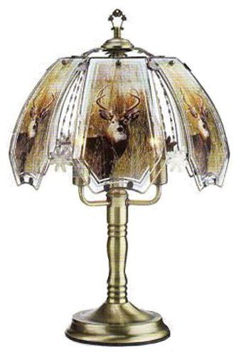 Whitetail Deer Touch Lamp With Antique Brass Finish 632 Ab De8 Ok Lighting Http Www Amazon Com Dp B006smez5k Ref Cm Sw R Pi Dp P 9ytb0ygr11npyz