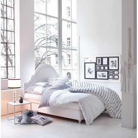 Boxspringbett, Romantik Look Katalogbild home decor Pinterest - komplett schlafzimmer günstig