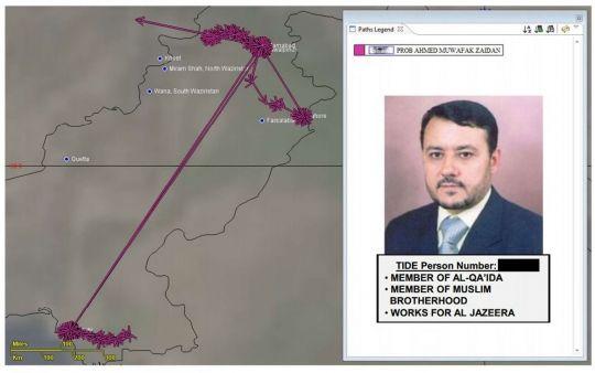 Ahmad Muaffaq Zaidan no niega que estuvo en contacto con grupos terroristas. De no ser así, le habría sido bastante difícil hacer su trabajo. Pero el hecho de que Zaidan sea un respetado periodista de investigación y el principal corresponsal de la cadena de televisión de noticias Al Jazeera en Islamabad no pareció perturbar a la Agencia de Seguridad Nacional (NSA, en inglés) de Estados Unidos, que no solo lo espió, sino que incluso lo