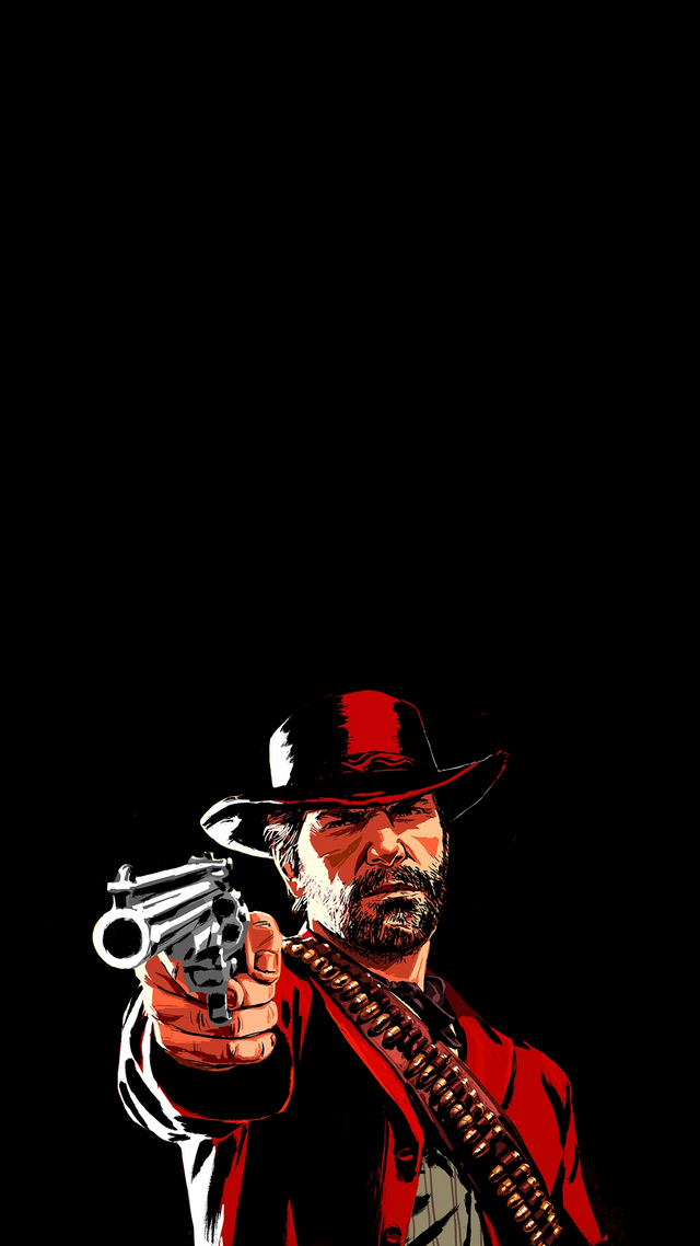 Backgrounds For Amoled Phones Red Dead Redemption Artwork Red Dead Redemption Art Red Dead Redemption