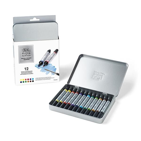 WN Watercolor Marker Set of 12 - SALE - More | plazaart.com | Plaza ...