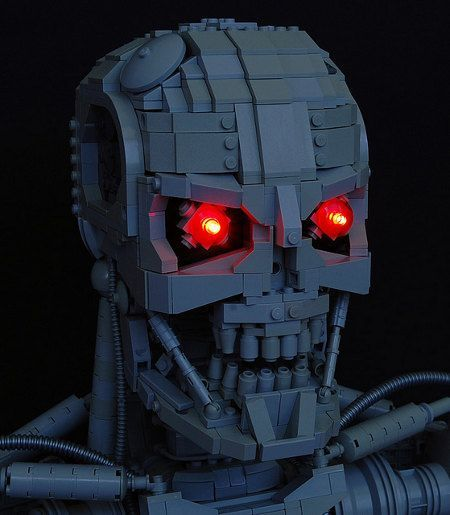 LEGO Terminator (T-800) [lego]