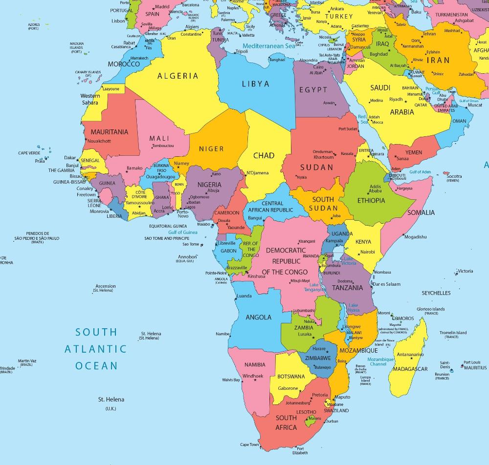 Carte De L Afrique Recherche Google Africa Map India World Map Geography Map