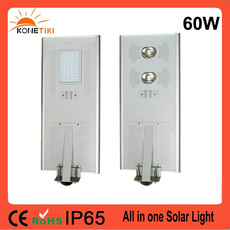 5 Years Warranty Ip65 Outdoor All In One Integrated Outdoor Led Solar Powered Light For Park Lot Street Light Solar Powered Lights Locker Storage Street Light