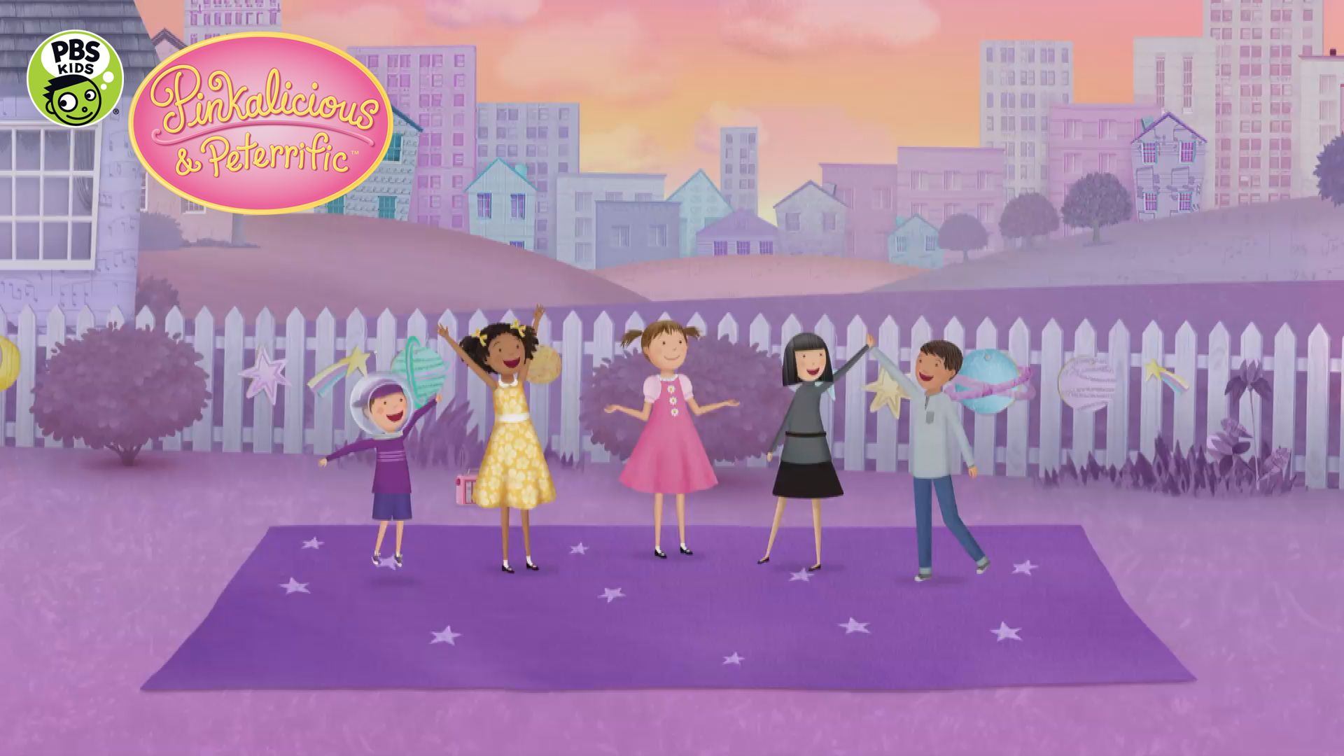 Space Dance Pinkalicious Peterrific Dance Lessons Pbs Kids Kids Dance