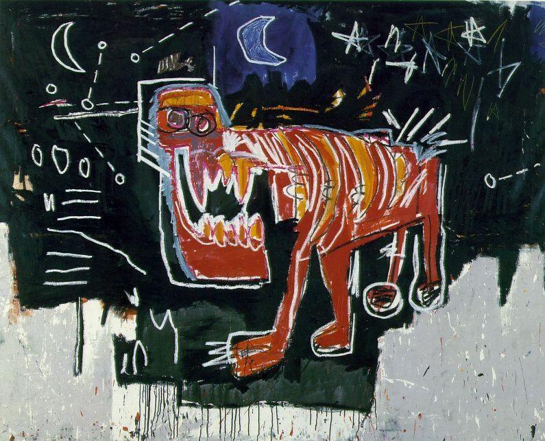 Dog, 1982 Jean-Michel Basquiat
