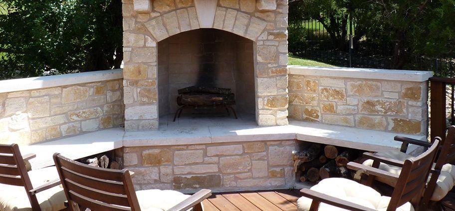 Corner Outdoor Fireplace Kits - Corner Outdoor Fireplace Kits Outside Pinterest Wood Storage