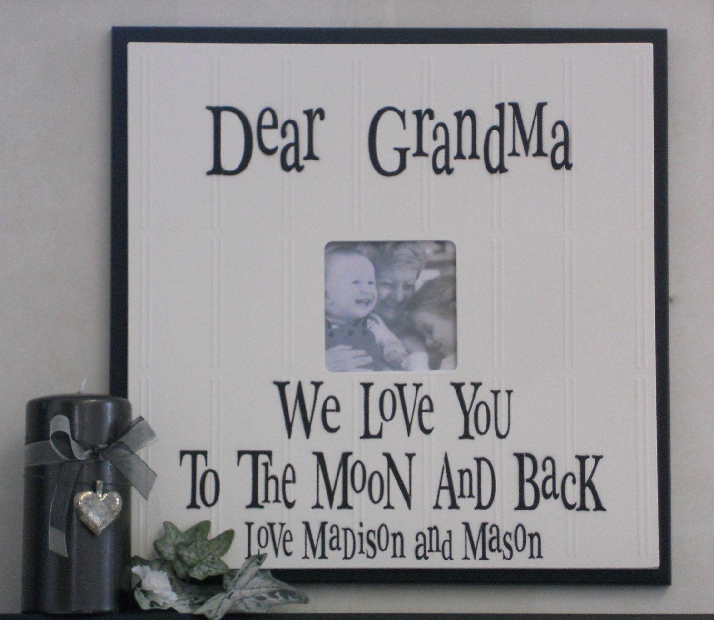 Old Fashioned Grandma And Grandpa Picture Frame Embellishment ...