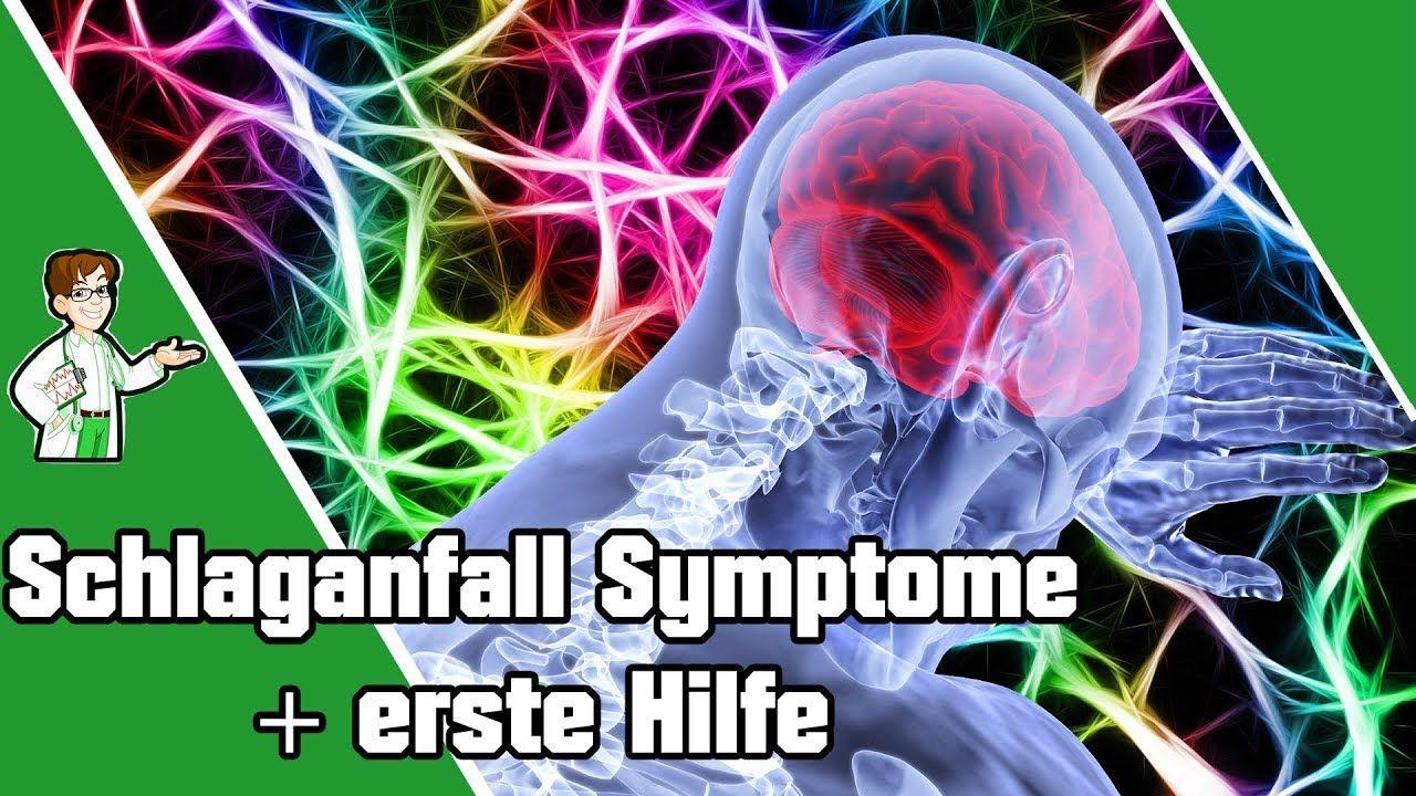 schlaganfall symptome