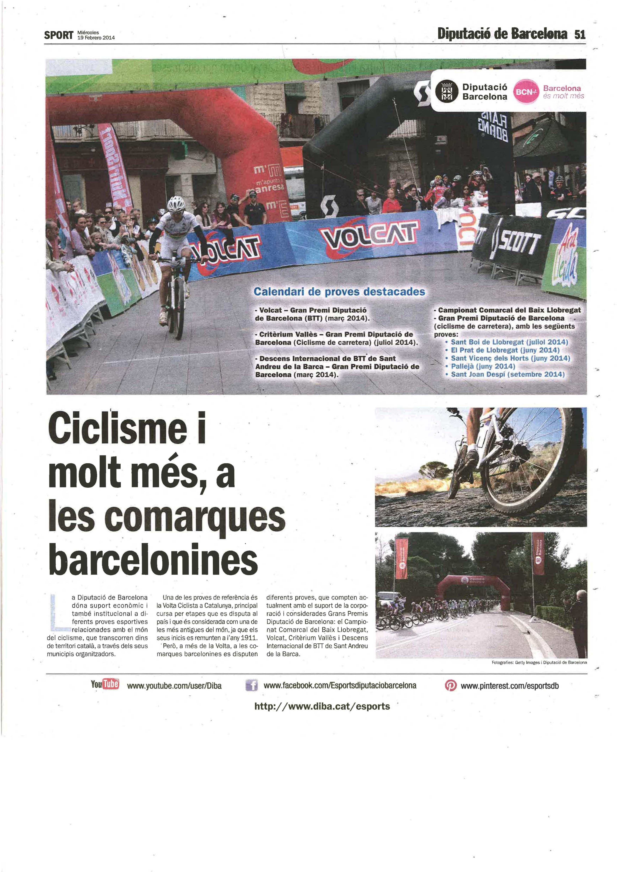 Ciclisme i molt més, a les comarques barcelonines! Turisme Actiu a #BCNmoltmes!