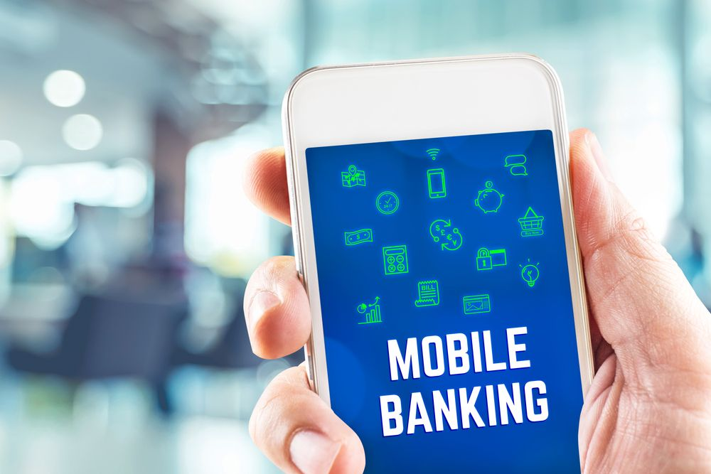 Картинка банк мобильный