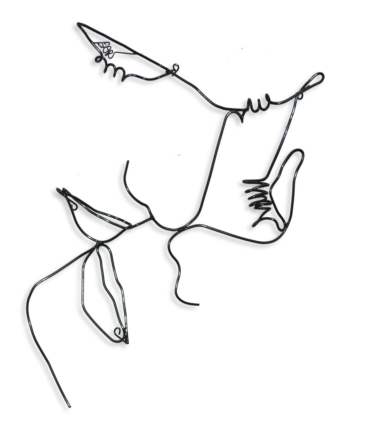 wire wall art of lovers | Art-Lodge | Pinterest | Wire wall art ...