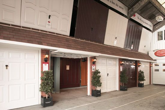 The Garage Door Company Inside Sheffield Showroom The Garage