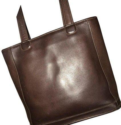 a473fef3ffe Coach Vintage Bleeker Bucket Brown Leather Tote - Tradesy