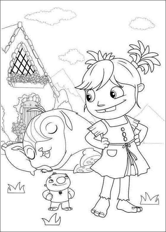 Wallykazam Nick Jr Coloring Page Coloring Pages Nick Jr Coloring Pages Coloring Books