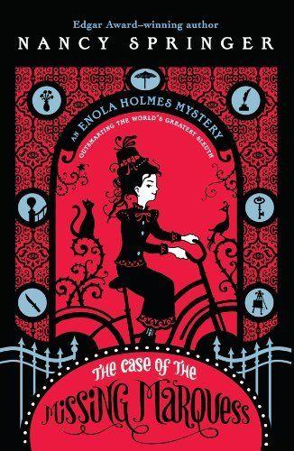 The Case of the Missing Marquess: An Enola Holmes Mystery by Nancy Springer, http://www.amazon.com/dp/B001QIGZ9K/ref=cm_sw_r_pi_dp_ZJ59ub1X44MCJ