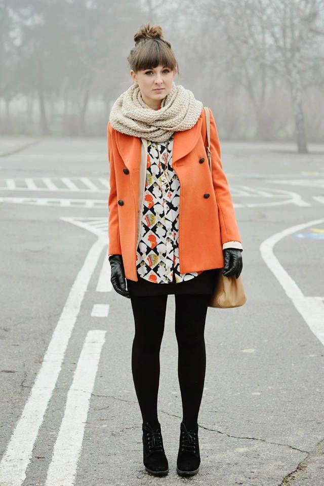 pastel orange.