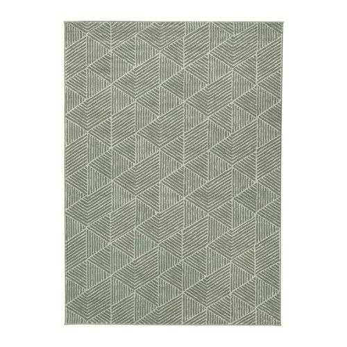 Stenlille alfombra pelo corto verde pelo corto ikea y el pelo - Alfombra verde ikea ...