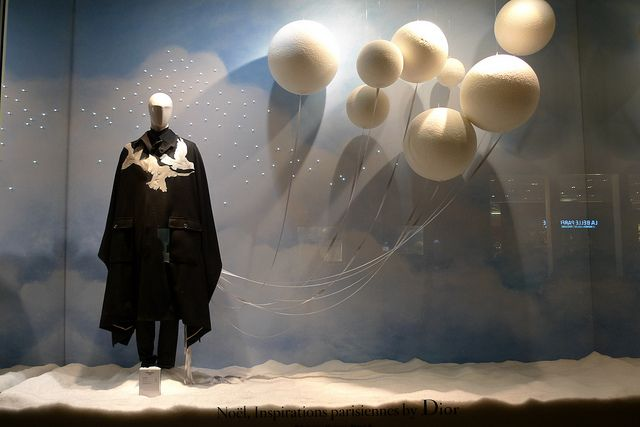 Vitrines de Noël Dior du Printemps Homme - Paris, décembre 2012 | Flickr - Photo Sharing!