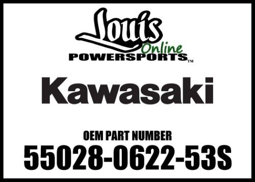Kawasaki 2017 Ninja Cowling Inner Lh Carb 55028-0622-53S