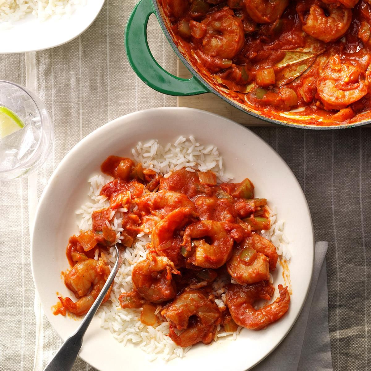 True Shrimp Creole #easyshrimprecipes