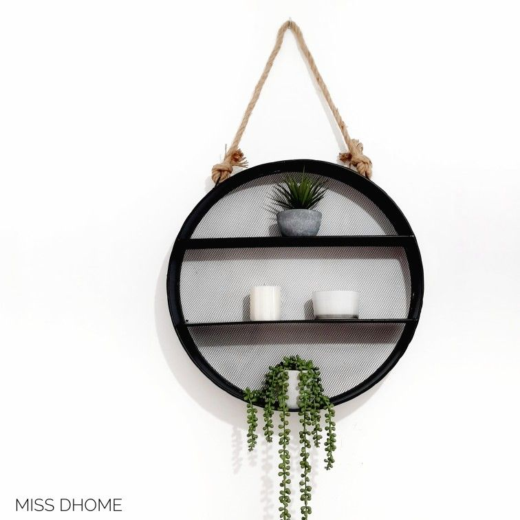 Circulo De Metal Para Deco De Pared In 2020 Decor Home Decor Corner Bookcase