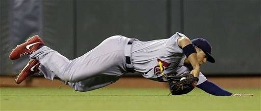 Game 2 of the NLCS- Jon Jay  10-15-12