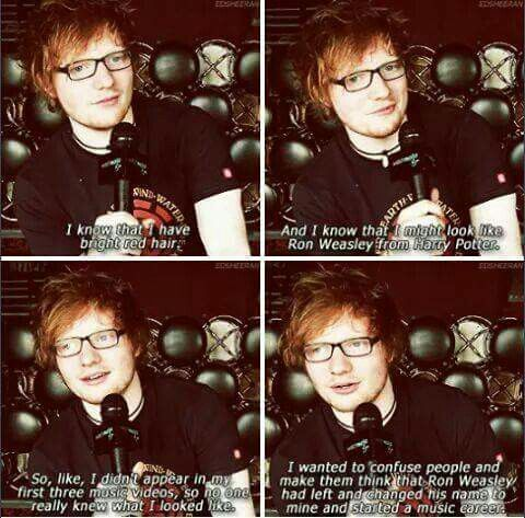 Pin By Caroline K On Harry Potter Ed Sheeran Funny Pictures Harry Potter Fantastic Beasts