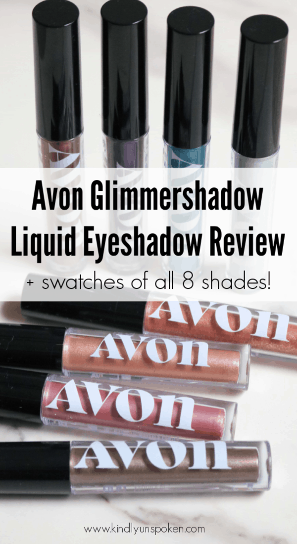 Avon Glimmershadow Liquid Eyeshadow Review Eyeshadow