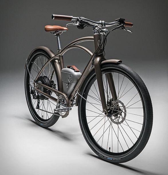 Vintage Electric Cafe E Bike Bike Ebike Motorised Bike