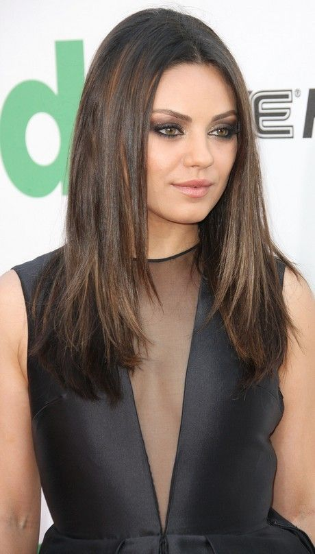 mila kunis hair ideas pinterest jennifer lawrence. Black Bedroom Furniture Sets. Home Design Ideas