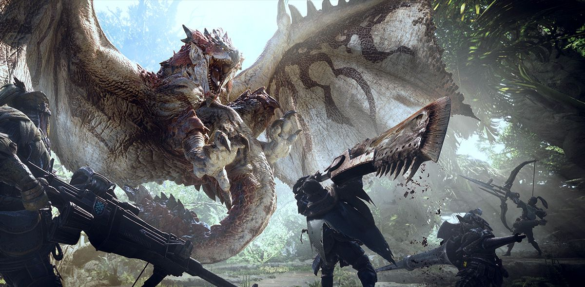 Iron Galaxy Studios Wants To Port Monster Hunter World To The Nintendo Switch Monster Hunter World Monster Hunter World Wallpaper Monster Hunter
